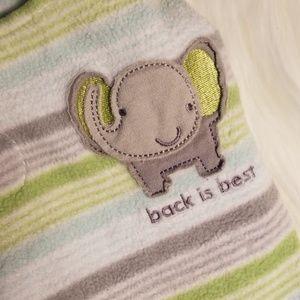 Back is Best Halo sleep sack newborn boy 6-12lbs